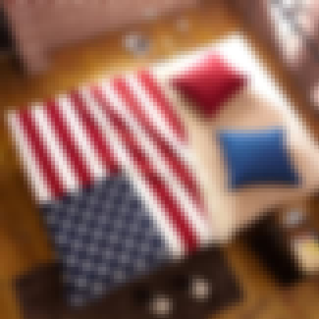 Use It As a Blanket      is listed (or ranked) 5 on the list Things You Aren't Supposed to Do with the American Flag