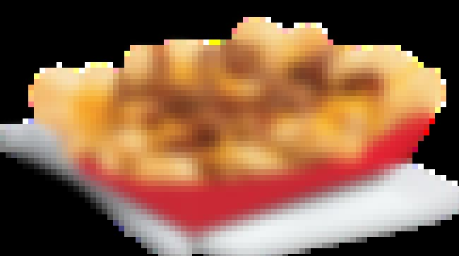Del Taco Chili Cheese Fries      is listed (or ranked) 6 on the list Ranking the Most Delicious Plates of Fast Food Loaded Fries